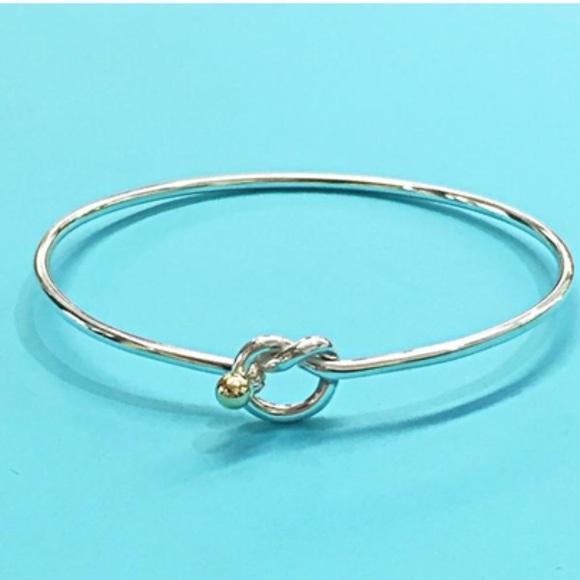 9cc46cb25 Tiffany & Co. Jewelry | Authentic Tiffany Love Knot Bracelet | Poshmark